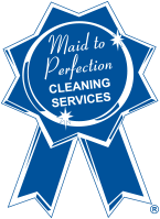 Maid to Perfection ribbon logo